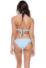 LA CORREDERA - Halter Top & Moderate Bottom • Cielo