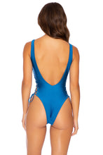 MAMBO - Open Side One Piece Bodysuit • Cove Blue