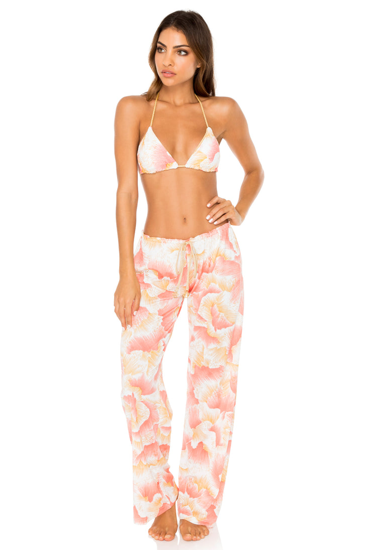 COSTA DE LUZ - Triangle Top & Beach Pant • Multicolor