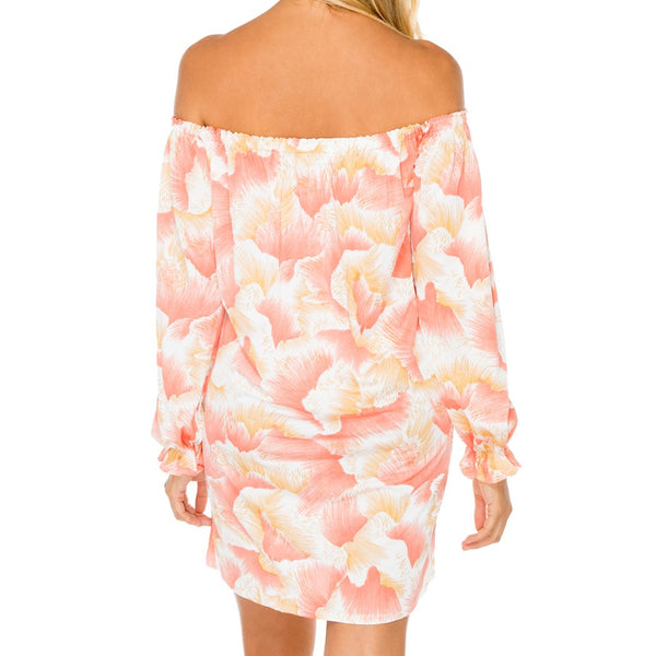 COSTA DE LUZ - Cuff Bell Sleeve Dress