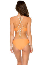 BUENA VISTA - Drawstring Halter Top & Drawstring Side Full Bottom • Melon
