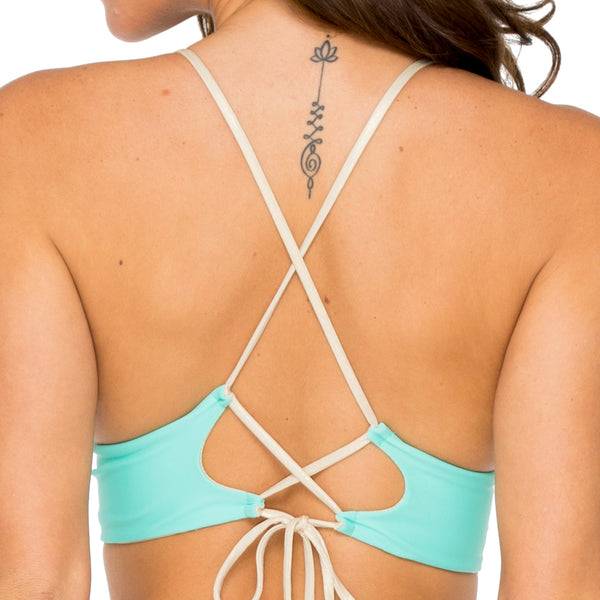 BUENA VISTA - Drawstring Halter Top