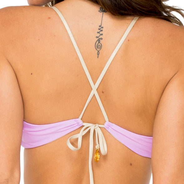 BUENA VISTA - Drawstring Bralette Top
