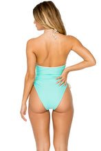 BUENA VISTA - Drawstring High Leg One Piece • Agua Dulce