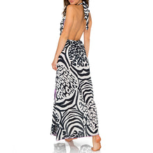 BUENA VISTA - Deep Plunge Long Dress
