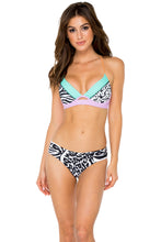 CAYO SETIA - Underwire Top & Stitched Straps Moderate Bottom • Multicolor