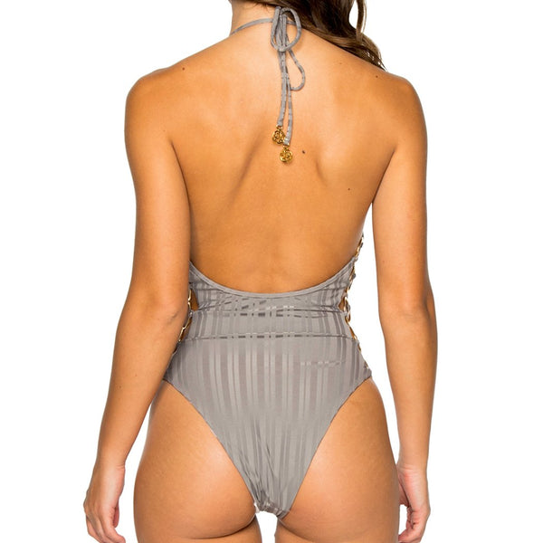 TURI TURAI - Open Side One Piece Bodysuit