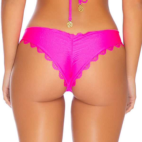 NOCHES DE SEVILLA - Seamless Wavey Ruched Back Bottom-EJC