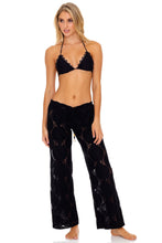 BOHO DREAM - Triangle Top & Beach Pant • Black