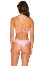 NOCHES DE SEVILLA - Underwire Top & Seamless Wavey Ruched Back Bottom • Rose Champagne