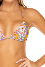 ALHAMBRA - Triangle Top & Wavey Ruched Back Brazilian Tie Side Bottom • Lavanda