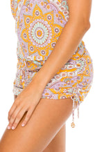 ALHAMBRA - T Back Mini Dress • Lavanda