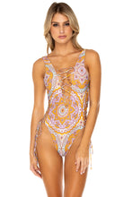 ALHAMBRA - Open Side One Piece Bodysuit • Lavanda