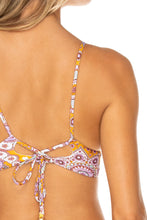 ALHAMBRA - Cross Back Bustier Top & Moderate Bottom • Lavanda