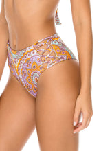 ALHAMBRA - Halter Top & High Rise Cheeky Bottom • Lavanda