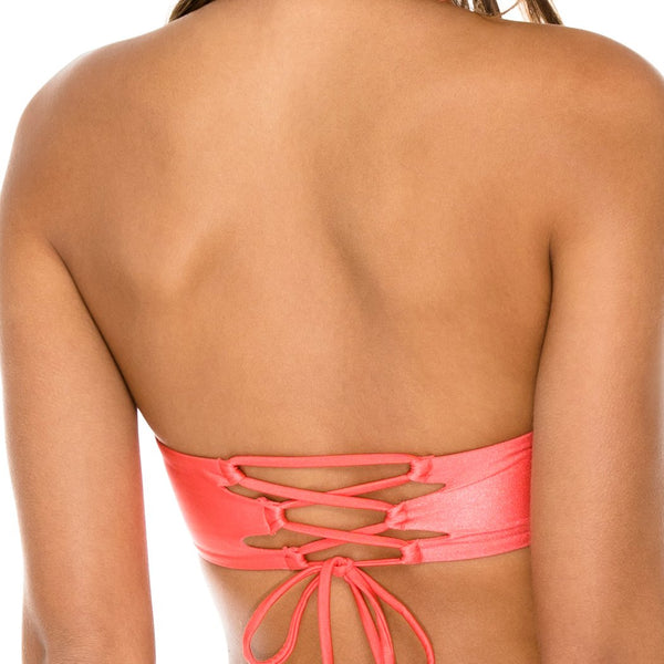 AMOR Y MIEL - Cut Out Underwire Top