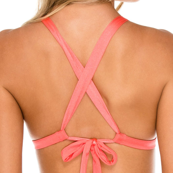 AMOR Y MIEL - Adjustable Back Halter Top