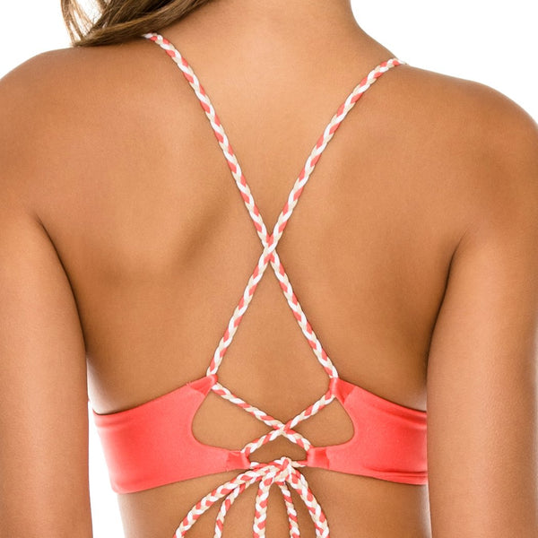 AMOR Y MIEL - Cross Back Bustier Top
