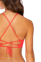 CORAZON DE SEDA - Underwire Top & Full Bottom • Scarlet