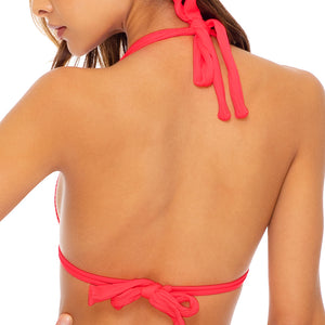 TRIANA SUMMER - Triangle Halter Top