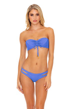 TRIANA - Bandeau Top & Reversible Zig Zag Open Side Moderate Bottom • Marina