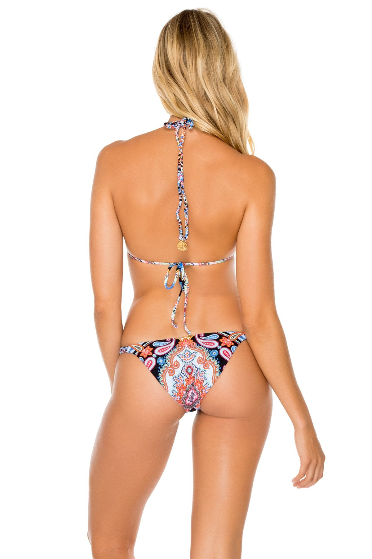 MAESTRANZA - Triangle Top & Double Braided Moderate Bottom • Black