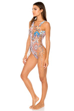 MAESTRANZA - Open Side One Piece Bodysuit • White
