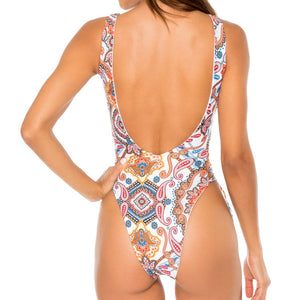 MAESTRANZA - Open Side One Piece Bodysuit