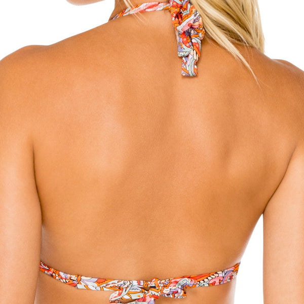 ANDALUZ - Triangle Halter Top