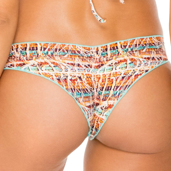 ALMERIA - Wavey Ruched Back Brazilian Bottom