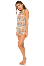 ALMERIA - T Back Mini Dress • Multicolor