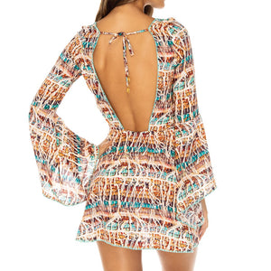 ALMERIA - Bell Sleeve Dress