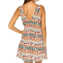 ALMERIA - V Neck Short Dress