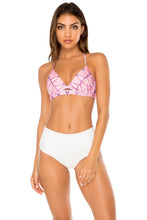 CADIZ - Underwire Top & High Rise Cheeky Bottom • Multicolor