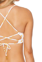 ITSY BITSY - Underwire Top & Strappy Brazilian Ruched Back Bottom • Yellow