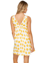 ITSY BITSY - V Neck Short Dress • Yellow