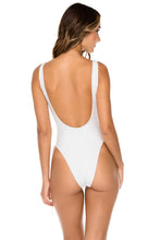 BULERIA - Open Side One Piece Bodysuit • Ivory