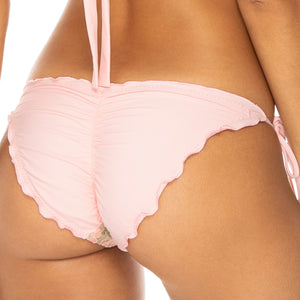 GITANA - Wavey Ruched Back Full Tie Side Bottom