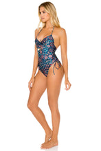 CORDOBA - Drawstring High Leg One Piece • Multicolor
