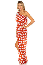 MACARENA - Cabaret Maxi Dress • Ole Red