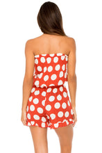 MACARENA - Strapless Ruffle Romper • Ole Red
