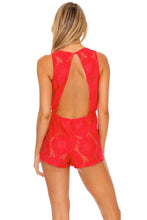 BOHO DREAM - Malecon Romper • Rojo