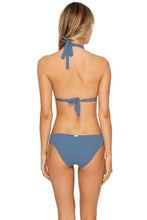 JAGGED BOMBSHELL - Triangle Halter Top & Full Bottom • Olas