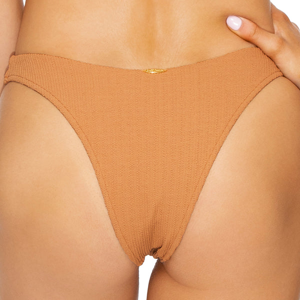 JAGGED BOMBSHELL - High Leg Brazilian Bottom