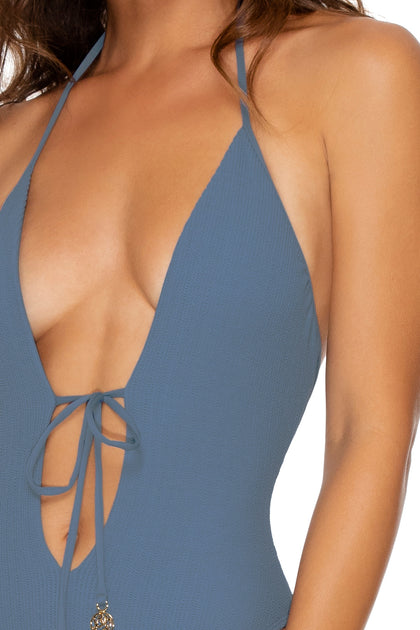 JAGGED BOMBSHELL - One Piece Bodysuit • Olas
