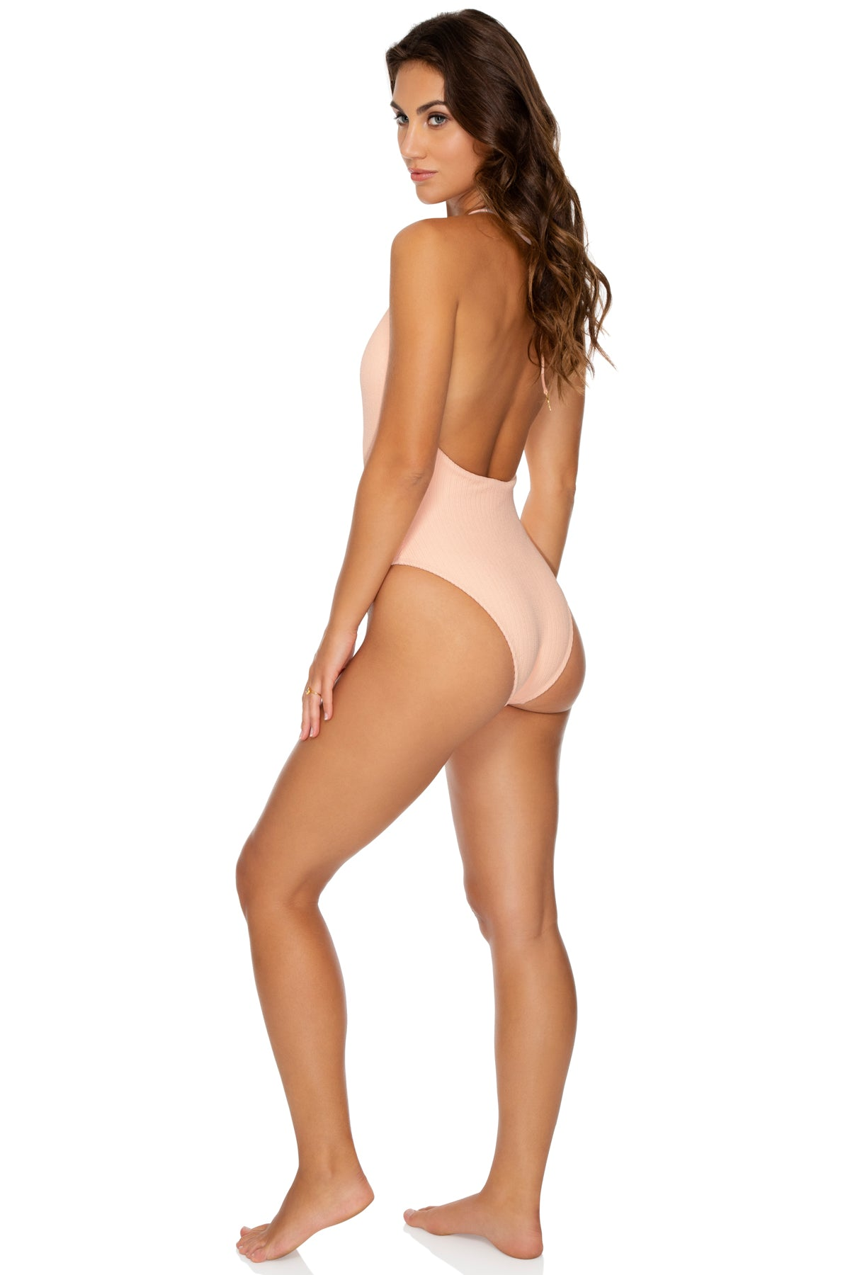 JAGGED BOMBSHELL - One Piece Bodysuit • Peachin