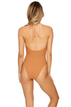 JAGGED BOMBSHELL - One Piece Bodysuit • Caramelo