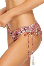LA REINA DEL SUR - Triangle Halter Top & Drawstring Side Full Bottom • Multicolor