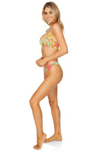 SMOKE SHOW - Underwire Top & High Leg Brazilian Bottom • Multicolor
