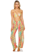 SMOKE SHOW - Underwire Top & Split Side Wide Leg Pant • Multicolor